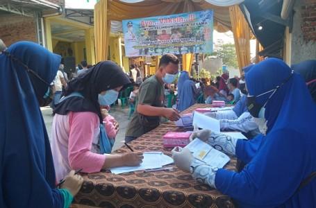 Pemdes Karangraharja di Bekasi Kembali Gelar 1000 Vaksin Sinovac