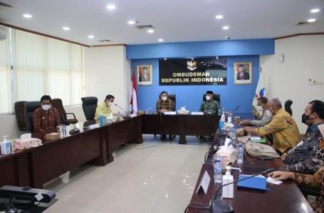 Bahas Pelayanan Publik, Walikota Bekasi Audiensi Dengan Ombudsman RI